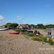 Boats and Winch Huts
